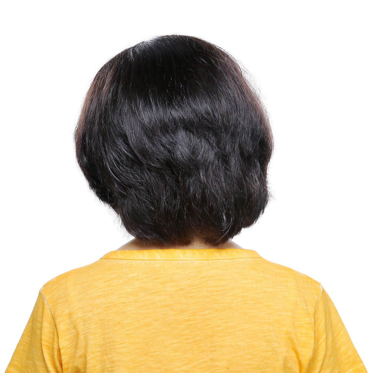 Short Layered - Right Parting
