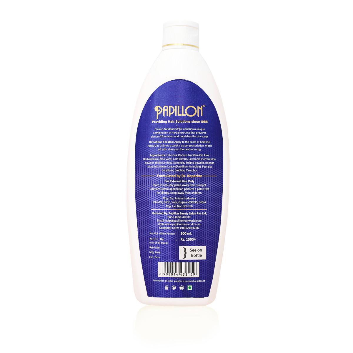 Cleanz Antidandruff Hair Oil - Large